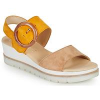Chaussures Femme Sandales et Nu-pieds Gabor KOKREM Beige / Jaune