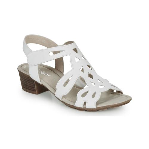 Chaussures Femme Sandales et Nu-pieds Gabor KELELE Blanc