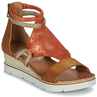 Chaussures Femme Sandales et Nu-pieds Dream in Green LIRABIEN Camel / Ocre