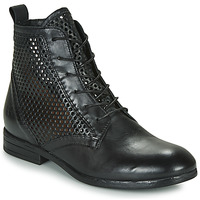Chaussures Femme Boots Dream in Green MARLO Noir