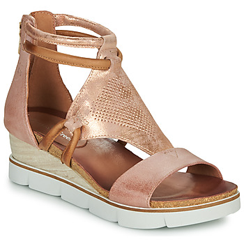 Chaussures Femme Sandales et Nu-pieds Dream in Green IRABIEN rose