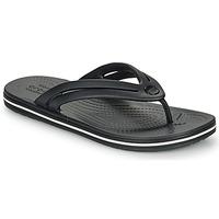Chaussures Femme Tongs Crocs CROCBAND FLIP W Noir