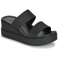 Chaussures Femme Sandales et Nu-pieds Crocs CROCS BROOKLYN MID WEDGE W Noir