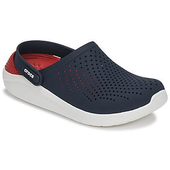 Chaussures Sabots Crocs LITERIDE CLOG Marine / rouge