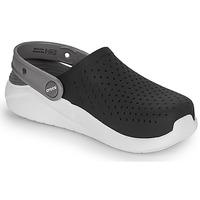 Chaussures Enfant Sabots Crocs LITERIDE CLOG K Noir / blanc