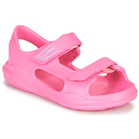 Chaussures Fille Sandales sport Crocs SWIFTWATER EXPEDITION SANDAL K Rose