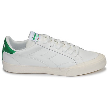 Baskets Basses diadora melody leather dirty