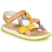 Chaussures Enfant Sandales et Nu-pieds Camper TWINS Marron / jaune