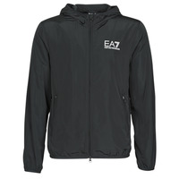 Vêtements Homme Coupes vent Emporio Armani EA7 TRAIN CORE ID M JACKET Noir