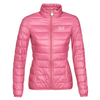 Vêtements Femme Doudounes Emporio Armani EA7 TRAIN CORE LADY W LT DOWN JACKET Rose