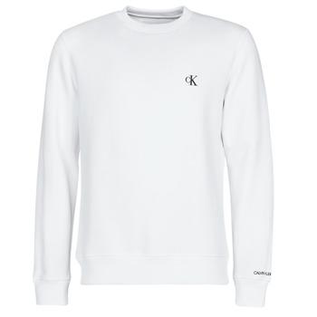 Vêtements Homme Sweats Calvin Klein Jeans CK ESSENTIAL REG CN Blanc