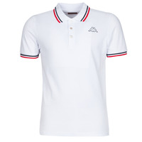 Vêtements Homme Polos manches courtes Kappa ESMO Blanc