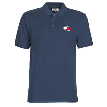 Vêtements Homme Polos manches courtes Tommy Jeans TOMMY BADGE POLO Marine
