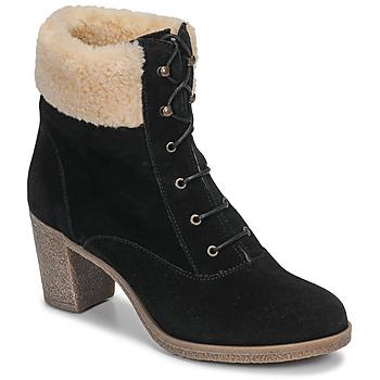 Chaussures Femme Bottines André BOHEME Noir