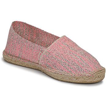 Chaussures Femme Espadrilles Pare Gabia VP FLUO Rose / Blanc