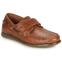 Chaussures Homme Chaussures bateau Fluchos POSEIDON Marron