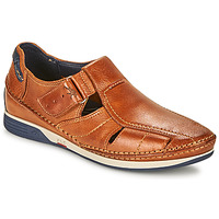 Chaussures Homme Sandales et Nu-pieds Fluchos JAMES Marron / Marine / Rouge