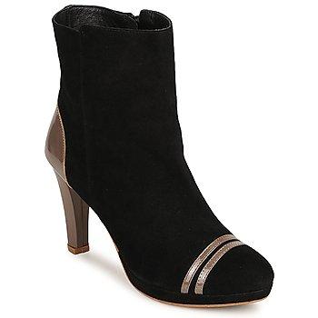 Chaussures Femme Bottines C.Petula KIMBER Noir