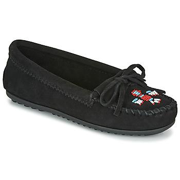 Chaussures Femme Mocassins Minnetonka THUNDERBIRD II Noir