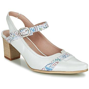Chaussures Femme Escarpins Dorking LEA Blanc