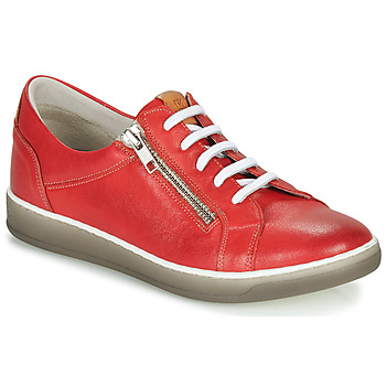 Chaussures Femme Baskets basses Dorking KAREN Rouge / Beige