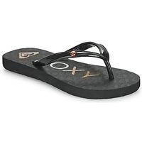 Chaussures Fille Tongs Roxy SANDY III Noir