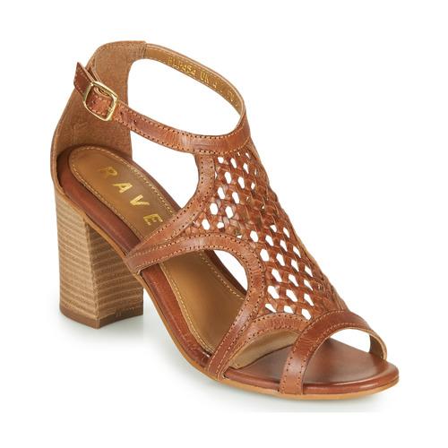Chaussures Femme Sandales et Nu-pieds Ravel COREEN Camel