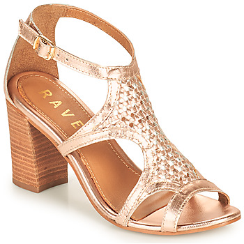 Chaussures Femme Sandales et Nu-pieds Ravel COREEN Rose / Doré
