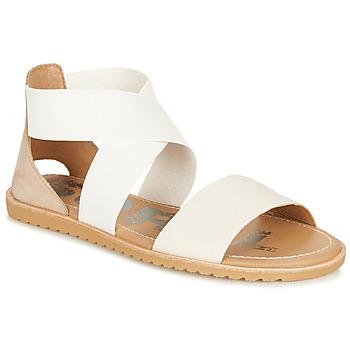 Chaussures Femme Sandales et Nu-pieds Sorel ELLA SANDAL Blanc / Beige
