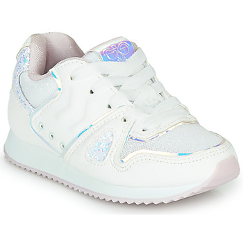 Chaussures Fille Baskets basses Hummel MARATHONA SHINE JR Blanc