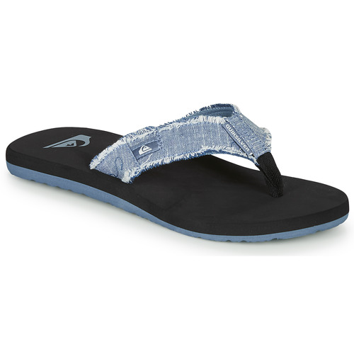 Chaussures Homme Tongs Quiksilver MONKEY ABYSS Bleu