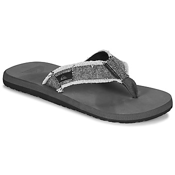 Chaussures Homme Tongs Quiksilver MONKEY ABYSS Gris