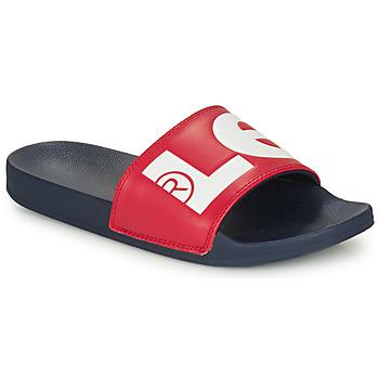 Chaussures Homme Claquettes Levi's JUNE L Bleu / Rouge