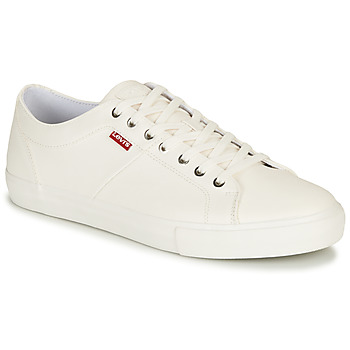 Chaussures Homme Baskets basses Levi's WOODWARD Blanc
