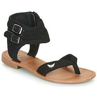 Chaussures Femme Sandales et Nu-pieds Les Petites Bombes VALENTINE Noir