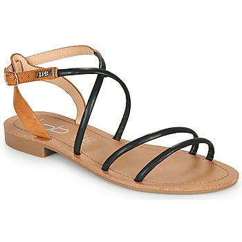 Chaussures Femme Sandales et Nu-pieds Les Petites Bombes EDEN Noir
