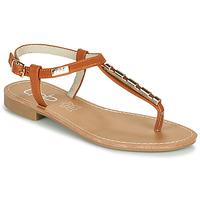 Chaussures Femme Sandales et Nu-pieds Les Petites Bombes MANEL Camel