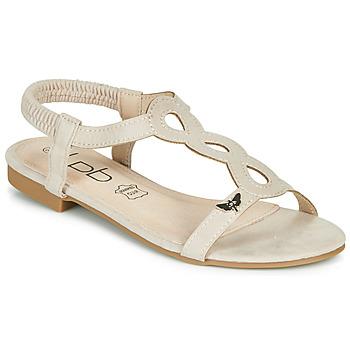 Chaussures Femme Sandales et Nu-pieds Les Petites Bombes FLORA Beige