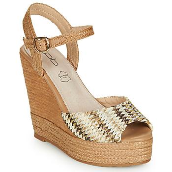 Chaussures Femme Sandales et Nu-pieds Les Petites Bombes PAOLA Beige