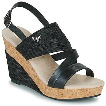 Chaussures Femme Sandales et Nu-pieds Les Petites Bombes MELINE Noir