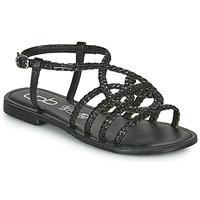 Chaussures Femme Sandales et Nu-pieds Les Petites Bombes ARIA Noir