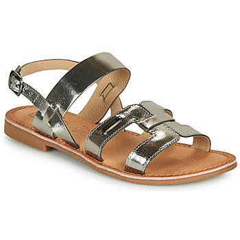 Chaussures Femme Sandales et Nu-pieds Les Petites Bombes BRANDY Argenté