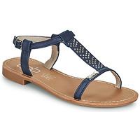 Chaussures Femme Sandales et Nu-pieds Les Petites Bombes EMILIE Marine
