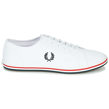 Baskets Basses fred perry kingston twill