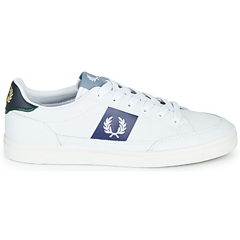 Baskets Basses fred perry b8198 leather / white / navy