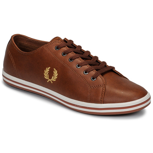 Chaussures Homme Baskets basses Fred Perry KINGSTON LEATHER Marron