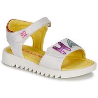 Chaussures Fille Sandales et Nu-pieds Agatha Ruiz de la Prada SMILES Blanc