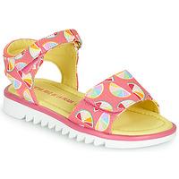 Chaussures Fille Sandales et Nu-pieds Agatha Ruiz de la Prada SMILES Rose / Multicolor