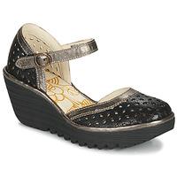 Chaussures Femme Escarpins Fly London YVEN Black / Bronze