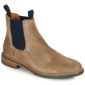 Chaussures Homme Boots Schmoove PILOT-CHELSEA Marron / Bleu